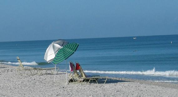 One of the best beaches in Florida at South Seas Village Resort Captiva Island, Florida
