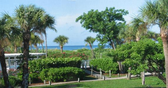 Captiva Beach Villa 2112 South Seas Island Resort. Overlooking the beach from the lanai.